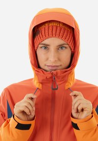 Mammut - CASANNA THERMO - Snowboardjacke - pepper-cheddar-wing teal - 2