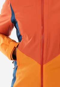 Mammut - CASANNA THERMO - Snowboardjacke - pepper-cheddar-wing teal - 5