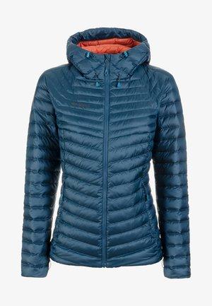 Gewatteerde jas - blue/orange