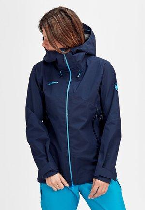 Hardshell jacket - peacoat