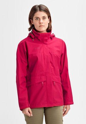 Waterproof jacket - sundown