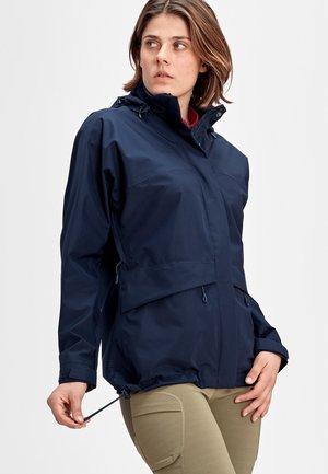 Waterproof jacket - peacoat