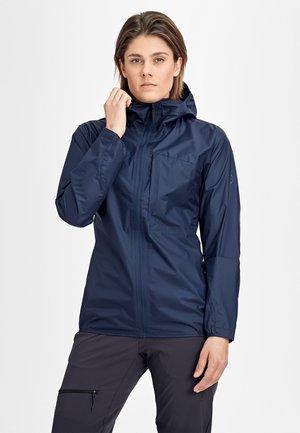 KENTO - Waterproof jacket - peacoat