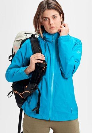 Waterproof jacket - ocean