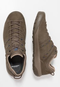 Mammut - HUECO LOW MEN - Obuwie hikingowe - bark - 1