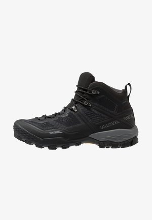 DUCAN MID GTX MEN - Outdoorschoenen - black/dark titanium
