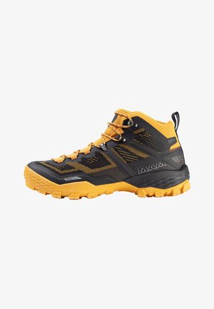 DUCAN MID GTX MEN - Obuwie hikingowe - black/golden