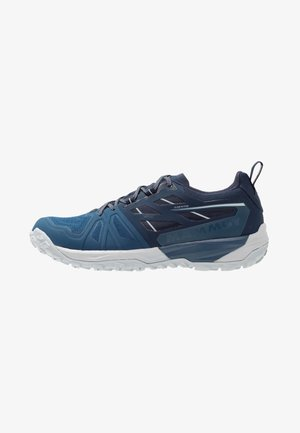 SAENTIS LOW GTX MEN - Trail running shoes - wing teal/dark wing teal