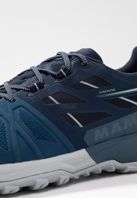 Mammut - SAENTIS LOW GTX - Outdoorschoenen - wing teal/dark wing teal - 5