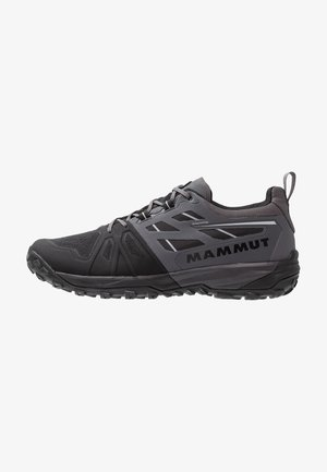 SAENTIS LOW MEN - Hiking shoes - black/dark titanium