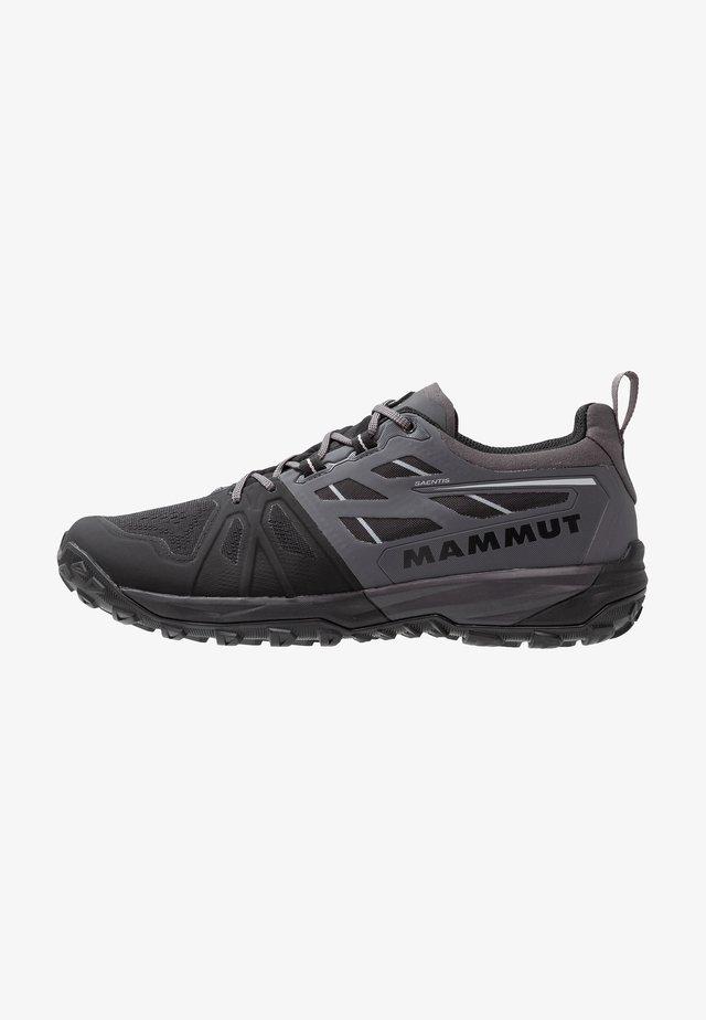 SAENTIS LOW MEN - Hikingschuh - black/dark titanium
