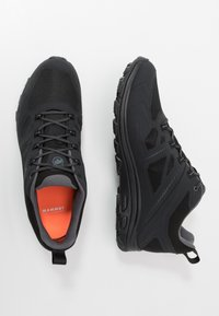 Mammut - OSURA LOW GTX MEN - Obuwie hikingowe - black/titanium - 1