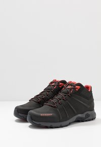Mammut - CONVEY MID GTX MEN - Obuwie hikingowe - black/pepper - 2
