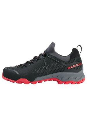 ALNASCA II LOW MEN - Obuwie hikingowe - black-spicy