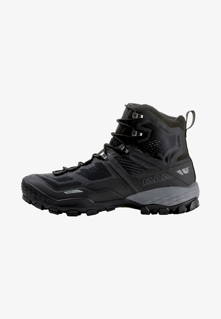 Mammut - DUCAN HIGH GTX MEN - Hiking shoes - black