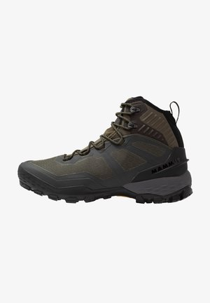 DUCAN PRO HIGH GTX MEN - Śniegowce - iguana/black