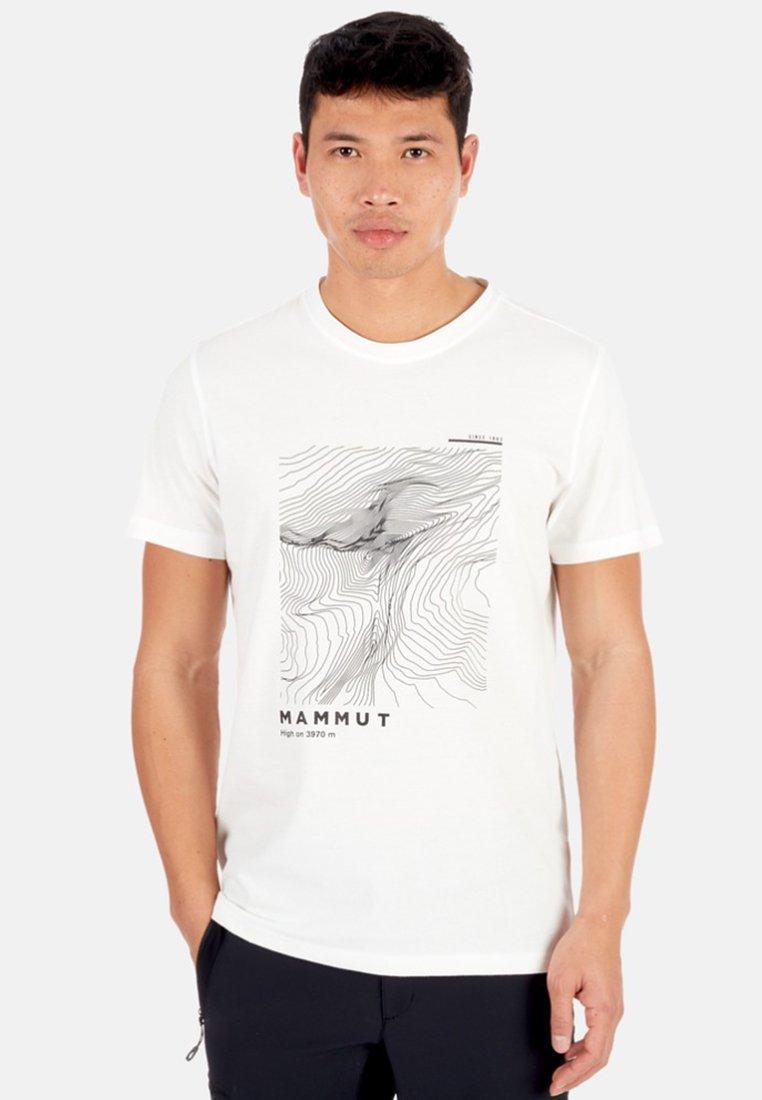 Mammut - MASSONE  - Print T-shirt - white