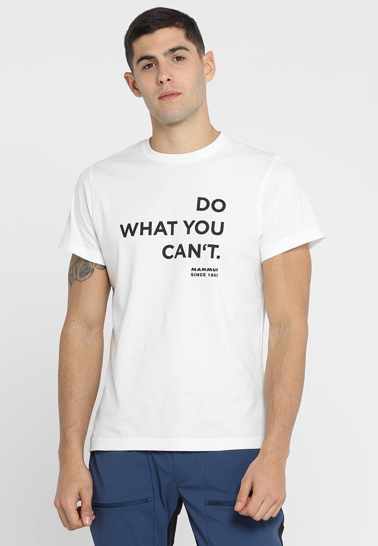 Mammut - SEILE - Print T-shirt - bright white