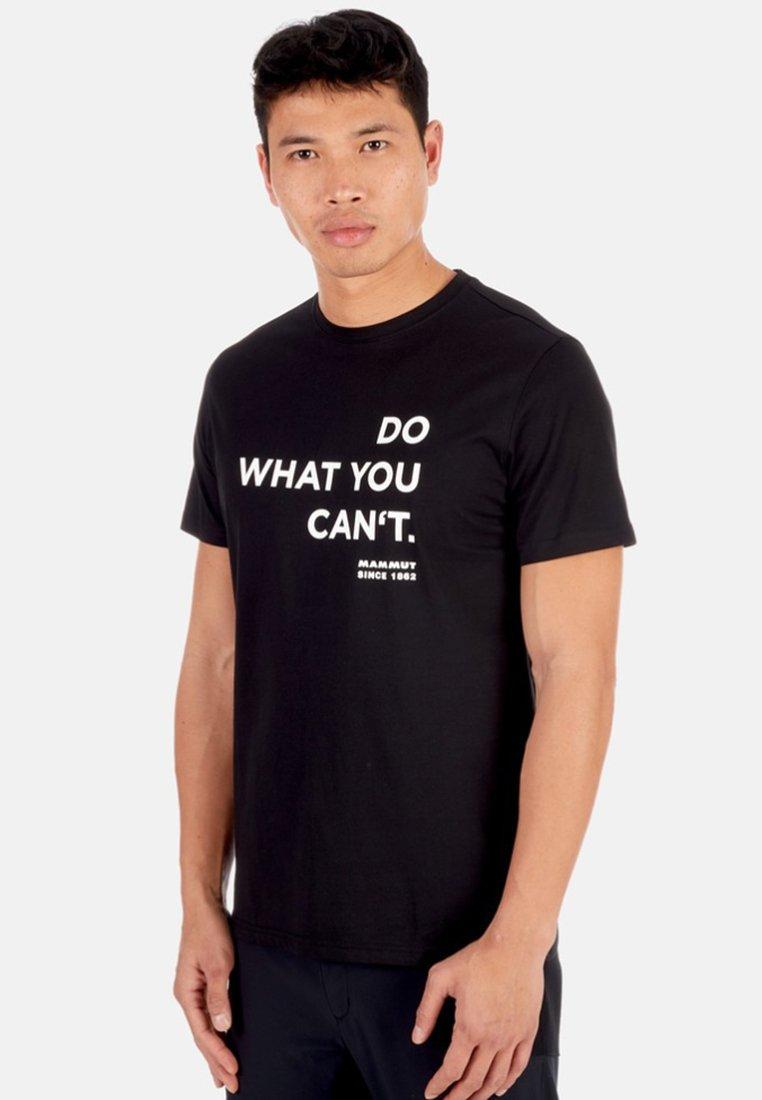 Mammut - SEILE - T-Shirt print - black