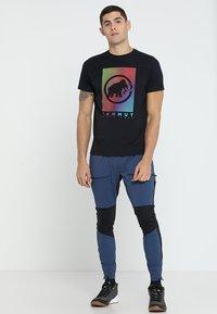 Mammut - T-shirt imprimé - black - 1