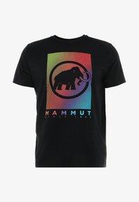Mammut - T-shirt imprimé - black - 3
