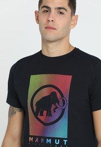 Mammut - T-shirt imprimé - black - 4