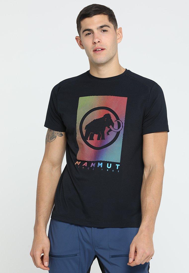 Mammut - T-shirt imprimé - black