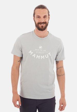 SEILE - Print T-shirt - grey