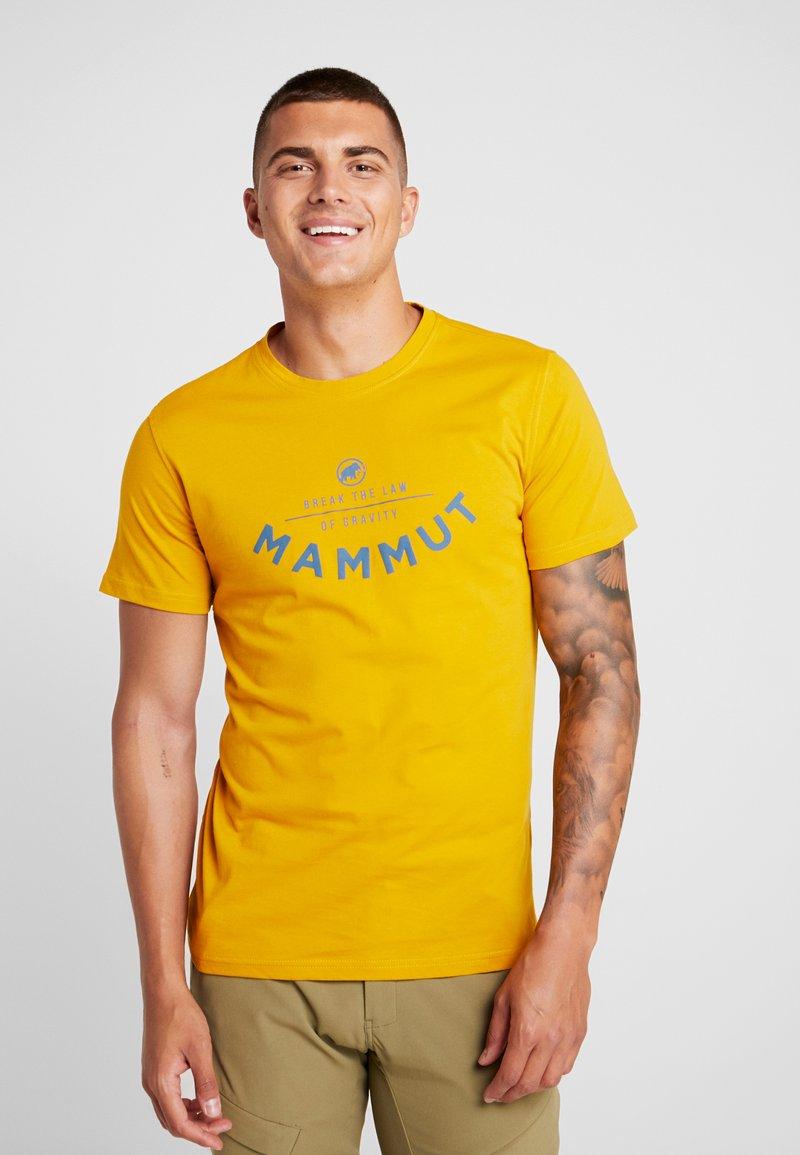 Mammut - SEILE - Print T-shirt - golden