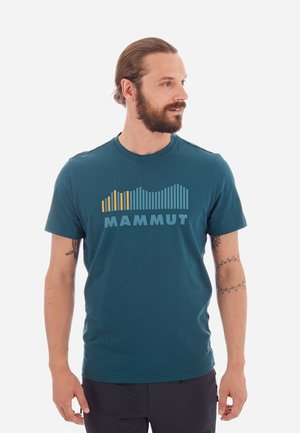 SEILE - Print T-shirt - blue