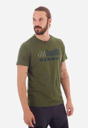 SEILE - T-shirt z nadrukiem - green
