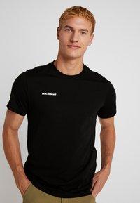 Mammut - SEILE - T-shirt z nadrukiem - black - 0