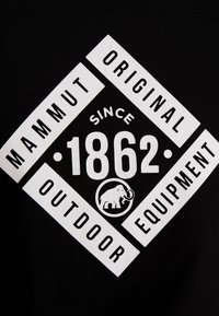 Mammut - SEILE - T-shirt z nadrukiem - black - 6