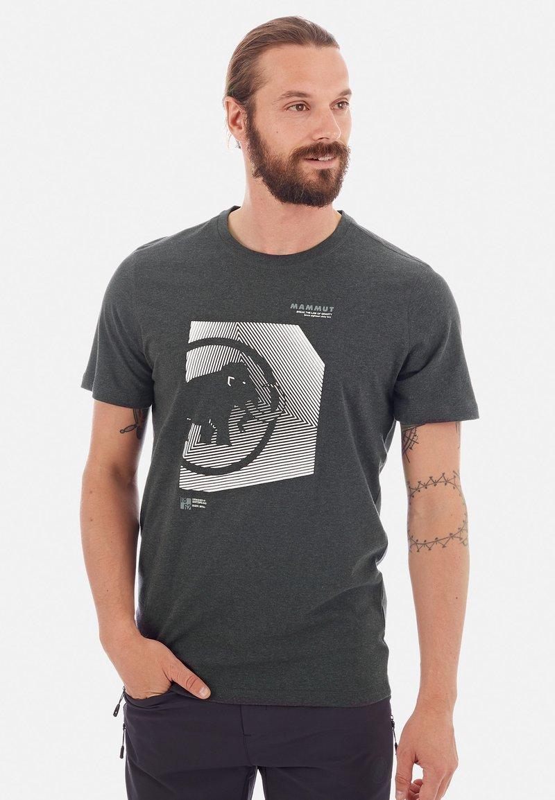 Mammut - SLOPER  - Print T-shirt - grey