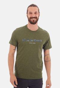 Mammut - SLOPER  - T-shirt z nadrukiem -  green - 0