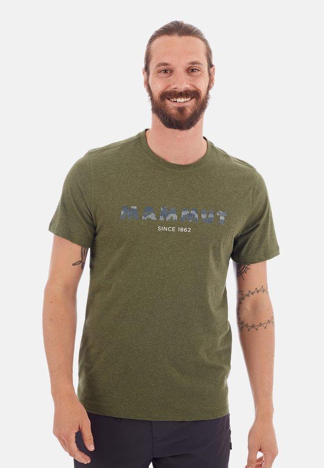 SLOPER  - Print T-shirt -  green