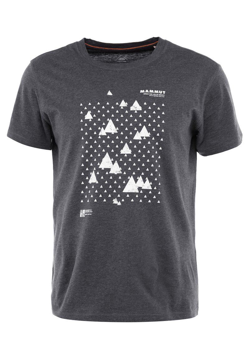 Mammut - SLOPER  - T-shirt con stampa - black melange