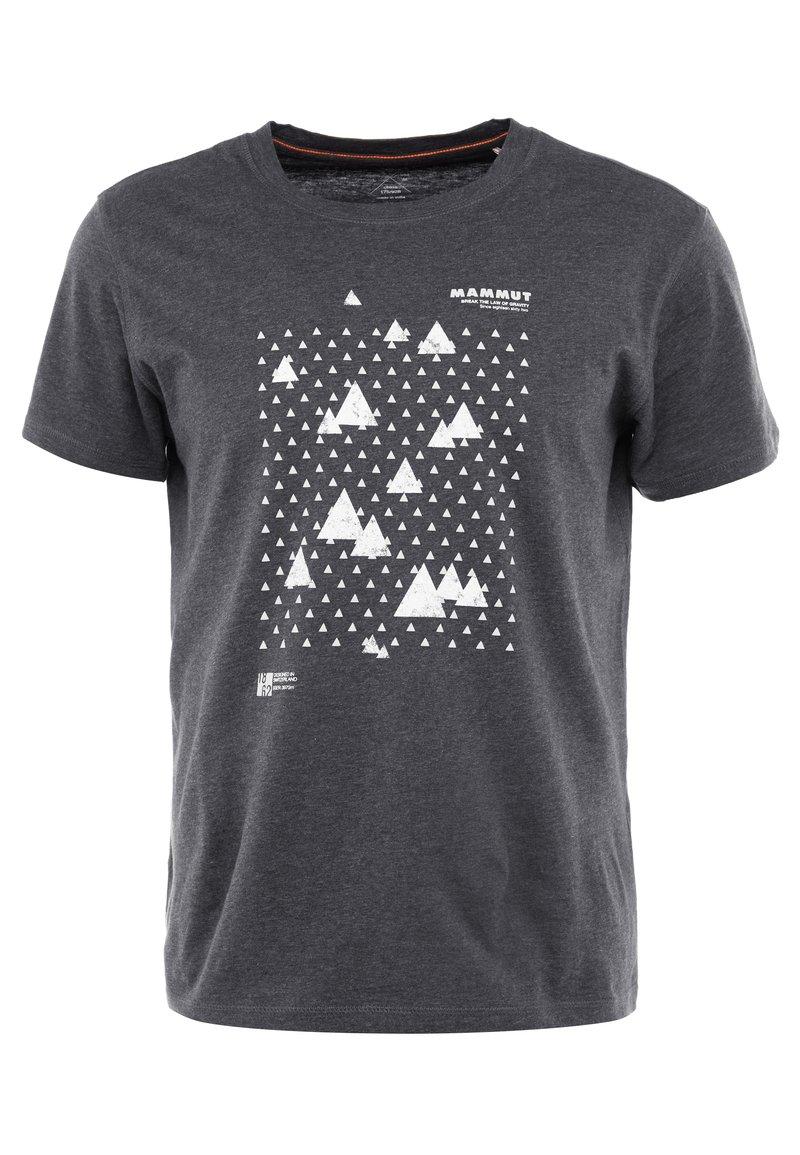 Mammut - SLOPER MEN - T-Shirt print - black melange