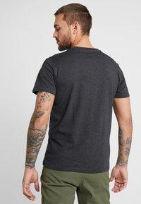 Mammut - SLOPER  - T-shirt con stampa - black melange - 3