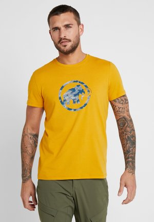T-shirts med print - golden