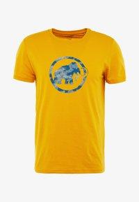 Mammut - T-shirt print - golden - 4
