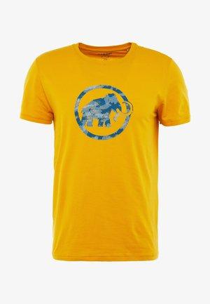 Print T-shirt - golden