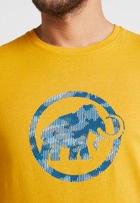 Mammut - T-shirt print - golden - 5