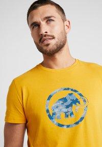 Mammut - T-shirt print - golden - 3