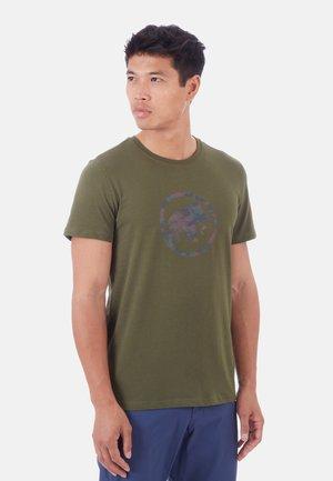 T-shirt z nadrukiem - iguana