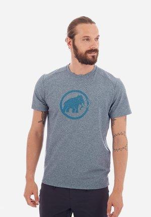 TROVAT - Print T-shirt - peacoat melange