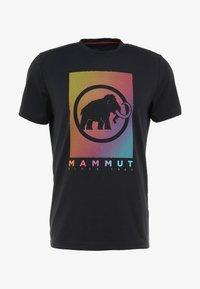 Mammut - TROVAT - Triko spotiskem - black - 3