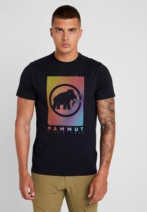 TROVAT - Print T-shirt - black