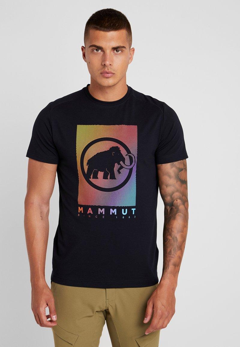 Mammut - TROVAT - Triko spotiskem - black