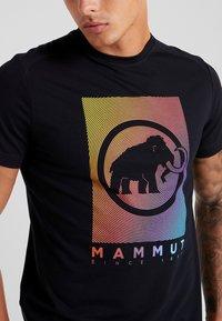 Mammut - TROVAT - Triko spotiskem - black - 4